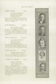 Page 13, 1937 Edition, Mechanic Falls High School - Pilot Yearbook (Mechanic Falls, ME) online yearbook collection