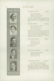 Page 14, 1937 Edition, Mechanic Falls High School - Pilot Yearbook (Mechanic Falls, ME) online yearbook collection
