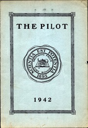 1942 Edition, Mechanic Falls High School - Pilot Yearbook (Mechanic Falls, ME)