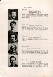 Page 10, 1942 Edition, Mechanic Falls High School - Pilot Yearbook (Mechanic Falls, ME) online yearbook collection
