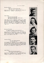 Page 11, 1942 Edition, Mechanic Falls High School - Pilot Yearbook (Mechanic Falls, ME) online yearbook collection