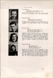 Page 12, 1942 Edition, Mechanic Falls High School - Pilot Yearbook (Mechanic Falls, ME) online yearbook collection