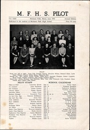 Page 3, 1942 Edition, Mechanic Falls High School - Pilot Yearbook (Mechanic Falls, ME) online yearbook collection
