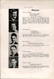 Page 8, 1942 Edition, Mechanic Falls High School - Pilot Yearbook (Mechanic Falls, ME) online yearbook collection