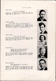 Page 9, 1942 Edition, Mechanic Falls High School - Pilot Yearbook (Mechanic Falls, ME) online yearbook collection