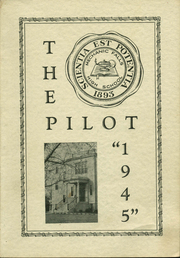 1945 Edition, Mechanic Falls High School - Pilot Yearbook (Mechanic Falls, ME)