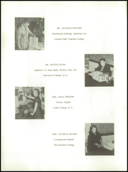 Page 12, 1957 Edition, Mechanic Falls High School - Pilot Yearbook (Mechanic Falls, ME) online yearbook collection