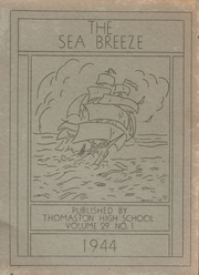 1944 Edition, Thomaston High School - Sea Breeze Yearbook (Thomaston, ME)