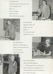 Page 11, 1955 Edition, Thomaston High School - Sea Breeze Yearbook (Thomaston, ME) online yearbook collection