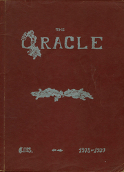 1939 Edition, Oakfield High School - Acorn Yearbook (Oakfield, ME)