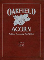 1957 Edition, Oakfield High School - Acorn Yearbook (Oakfield, ME)