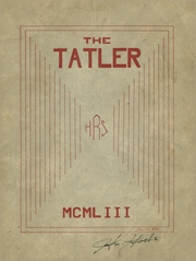 1953 Edition, Rockport High School - Tatler Yearbook (Rockport, ME)