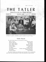 Page 2, 1954 Edition, Rockport High School - Tatler Yearbook (Rockport, ME) online yearbook collection