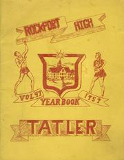 1957 Edition, Rockport High School - Tatler Yearbook (Rockport, ME)