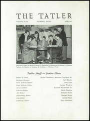 Page 3, 1957 Edition, Rockport High School - Tatler Yearbook (Rockport, ME) online yearbook collection
