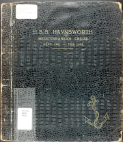 Page 1, 1952 Edition, Haynsworth (DD 700) - Naval Cruise Book online yearbook collection