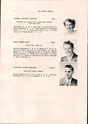 Page 10, 1951 Edition, Kingfield High School - Abram Breeze Yearbook (Kingfield, ME) online yearbook collection