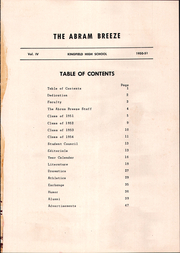 Page 3, 1951 Edition, Kingfield High School - Abram Breeze Yearbook (Kingfield, ME) online yearbook collection