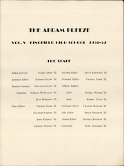 Page 3, 1952 Edition, Kingfield High School - Abram Breeze Yearbook (Kingfield, ME) online yearbook collection