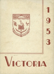 St Martin of Tours High School - Victoria Yearbook (Millinocket, ME) online yearbook collection, 1953 Edition, Page 1