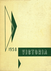St Martin of Tours High School - Victoria Yearbook (Millinocket, ME) online yearbook collection, 1958 Edition, Page 1