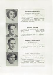 Page 11, 1952 Edition, South Paris High School - Chronicle Yearbook (South Paris, ME) online yearbook collection