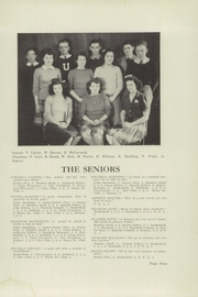 Page 11, 1945 Edition, Unity High School - Monitor Yearbook (Unity, ME) online yearbook collection