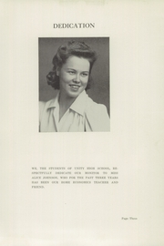 Page 5, 1945 Edition, Unity High School - Monitor Yearbook (Unity, ME) online yearbook collection