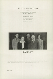 Page 6, 1945 Edition, Unity High School - Monitor Yearbook (Unity, ME) online yearbook collection
