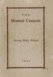 Page 1, 1942 Edition, Strong High School - Mussul Unsquit Yearbook (Strong, ME) online yearbook collection