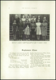 Page 12, 1942 Edition, Strong High School - Mussul Unsquit Yearbook (Strong, ME) online yearbook collection