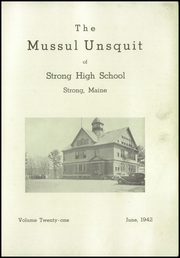 Page 3, 1942 Edition, Strong High School - Mussul Unsquit Yearbook (Strong, ME) online yearbook collection
