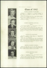 Page 8, 1942 Edition, Strong High School - Mussul Unsquit Yearbook (Strong, ME) online yearbook collection