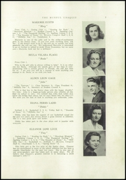 Page 9, 1942 Edition, Strong High School - Mussul Unsquit Yearbook (Strong, ME) online yearbook collection