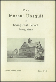 Page 3, 1944 Edition, Strong High School - Mussul Unsquit Yearbook (Strong, ME) online yearbook collection