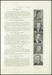 Page 7, 1944 Edition, Strong High School - Mussul Unsquit Yearbook (Strong, ME) online yearbook collection