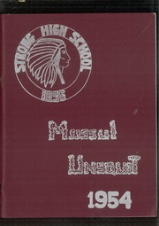 Page 1, 1954 Edition, Strong High School - Mussul Unsquit Yearbook (Strong, ME) online yearbook collection
