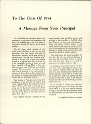 Page 4, 1954 Edition, Strong High School - Mussul Unsquit Yearbook (Strong, ME) online yearbook collection