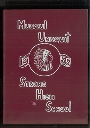 Page 1, 1955 Edition, Strong High School - Mussul Unsquit Yearbook (Strong, ME) online yearbook collection