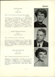 Page 11, 1955 Edition, Strong High School - Mussul Unsquit Yearbook (Strong, ME) online yearbook collection