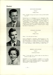 Page 12, 1955 Edition, Strong High School - Mussul Unsquit Yearbook (Strong, ME) online yearbook collection