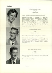 Page 14, 1955 Edition, Strong High School - Mussul Unsquit Yearbook (Strong, ME) online yearbook collection