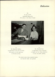 Page 5, 1955 Edition, Strong High School - Mussul Unsquit Yearbook (Strong, ME) online yearbook collection