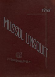 Page 1, 1958 Edition, Strong High School - Mussul Unsquit Yearbook (Strong, ME) online yearbook collection