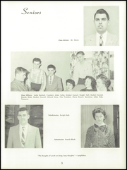 Page 13, 1958 Edition, Paris High School - Chronicle Yearbook (South Paris, ME) online yearbook collection