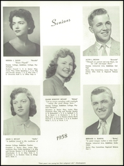 Page 15, 1958 Edition, Paris High School - Chronicle Yearbook (South Paris, ME) online yearbook collection