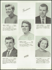 Page 16, 1958 Edition, Paris High School - Chronicle Yearbook (South Paris, ME) online yearbook collection