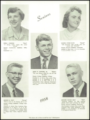 Page 17, 1958 Edition, Paris High School - Chronicle Yearbook (South Paris, ME) online yearbook collection