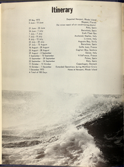 Page 6, 1973 Edition, Dale (DLG 19) - Naval Cruise Book online yearbook collection