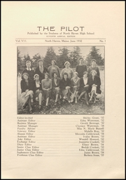 Page 17, 1932 Edition, North Haven High School - Pilot Yearbook (North Haven, ME) online yearbook collection